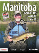 2015 Manitoba Anglers Guide Cover