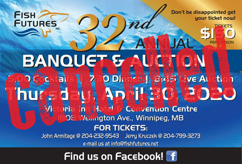 Fish Futures 2020 banquet Cancelled