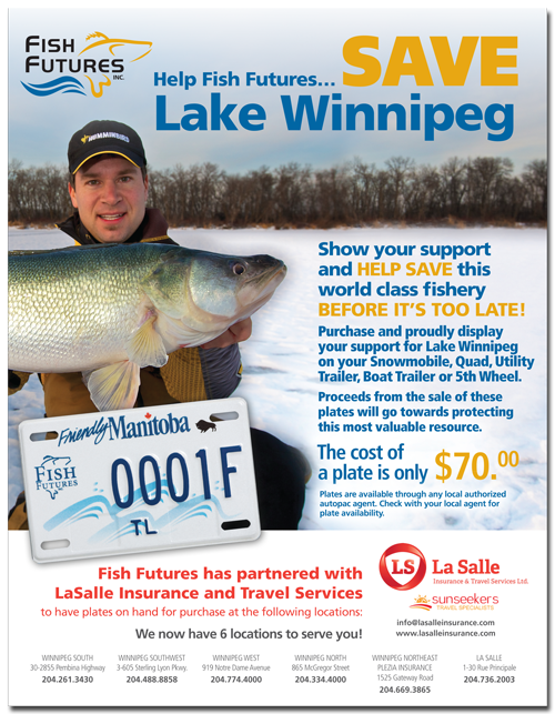 Fish Futures Save Lake Winnipeg ad