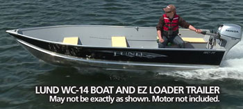 Lund WC-14 Boat